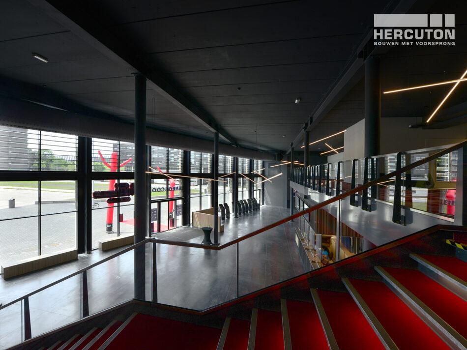 Nieuwbouw Euroscoop Cinema- & Leisurecomplex Amsterdam-Noord in aanbouw 2