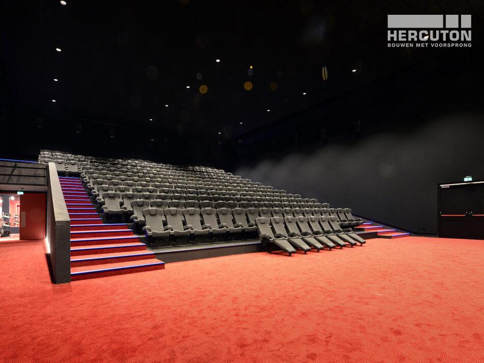 Nieuwbouw Euroscoop Cinema- & Leisurecomplex Amsterdam-Noord in aanbouw 3