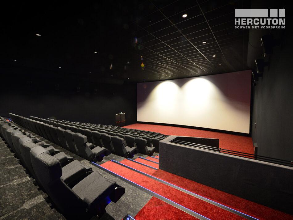 Nieuwbouw Euroscoop Cinema- & Leisurecomplex Amsterdam-Noord in aanbouw 4