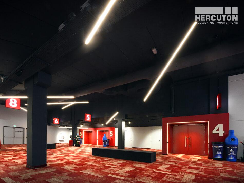 Nieuwbouw Euroscoop Cinema- & Leisurecomplex Amsterdam-Noord in aanbouw 6
