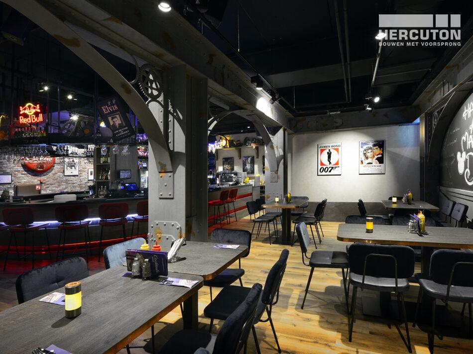 Nieuwbouw Euroscoop Cinema- & Leisurecomplex Amsterdam-Noord in aanbouw 13