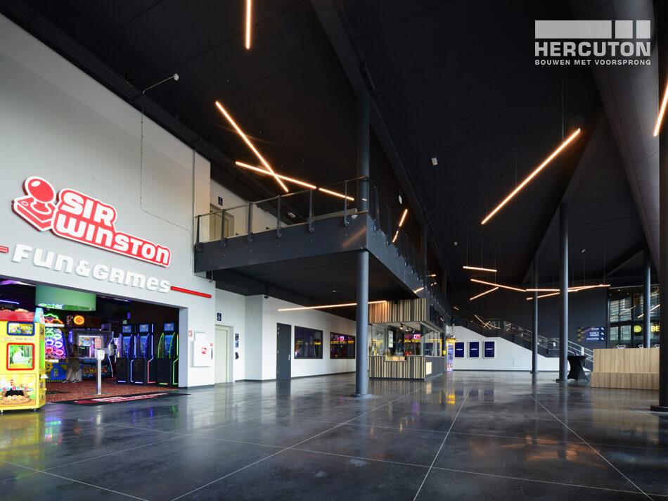 Nieuwbouw Euroscoop Cinema- & Leisurecomplex Amsterdam-Noord in aanbouw 14