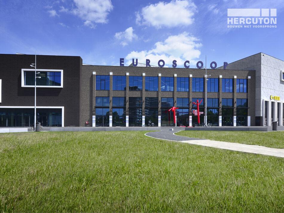 Nieuwbouw Euroscoop Cinema- & Leisurecomplex Amsterdam-Noord in aanbouw 16