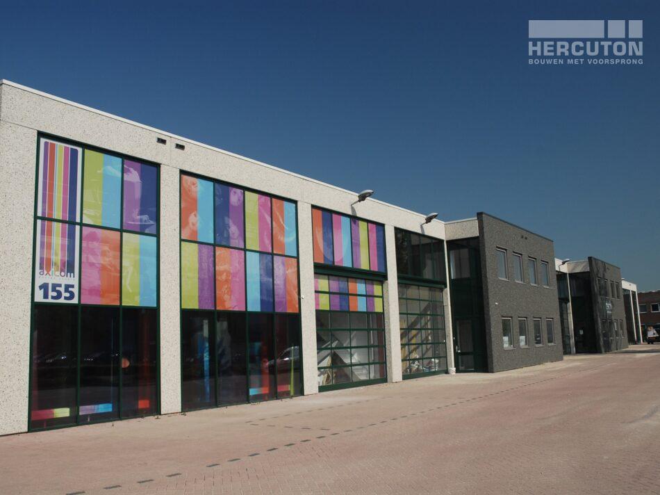 Alle vier de bedrijfsverzamelgebouwen Everdenberg zijn ontworpen door Hercuton.