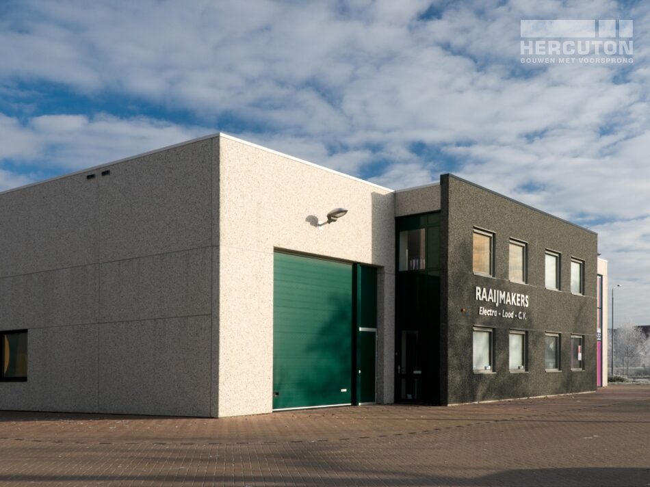 Hercuton heeft in Oosterhout maar liefst vier bedrijfsverzamelgebouwen gerealiseerd op bedrijventerrein Everdenberg.