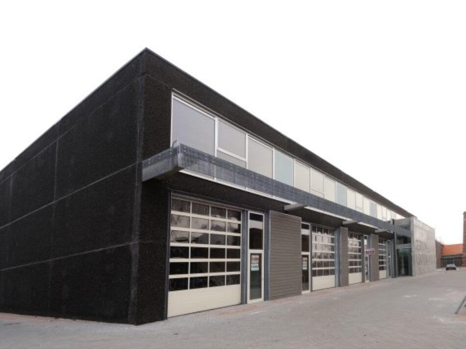 In Amsterdam-Noord heeft Hercuton bedrijfsverzamelgebouw Gedempd Hamerkanaal gerealiseerd.