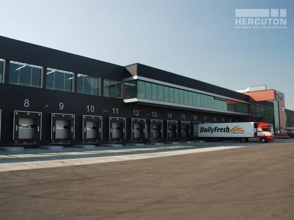 Hercuton heeft een verpakkings- en distributiecentrum van maar liefst 59.000 m2 voor Greenpack gebouwd.