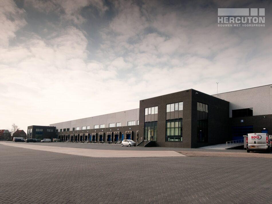 Hercuton heeft voor Greentrans in De Lier verschillende bedrijfspanden gebouwd
