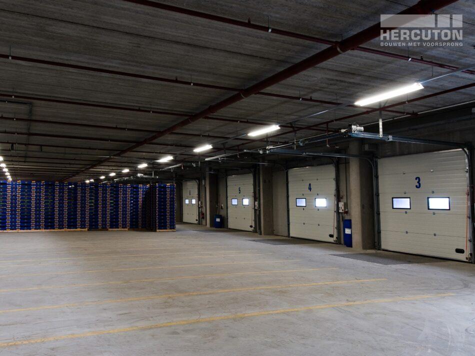 Hercuton heeft verschillende bedrijfspanden voor Greentrans in De Lier gerealiseerd.