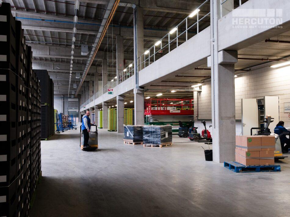 In De Lier heeft Hercuton verschillende bedrijfspanden voor Greentrans in De Lier gerealiseerd.