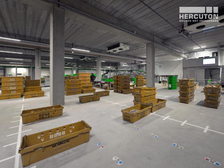 Hercuton realiseerde het distributiecentrum met kantoren turn-key voor W.K. Heyl jr. - DC