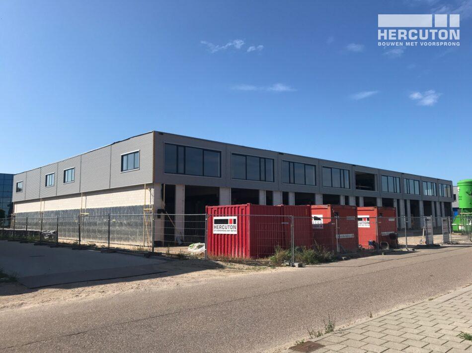 Hercuton realiseert bedrijfsverzamelgebouw Vennestraat, Lisse