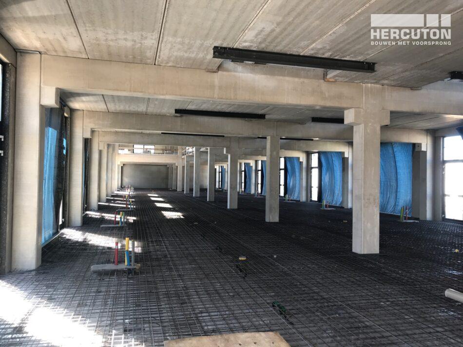 Hercuton bouwt bedrijfsverzamelgebouw Vennestraat, Lisse