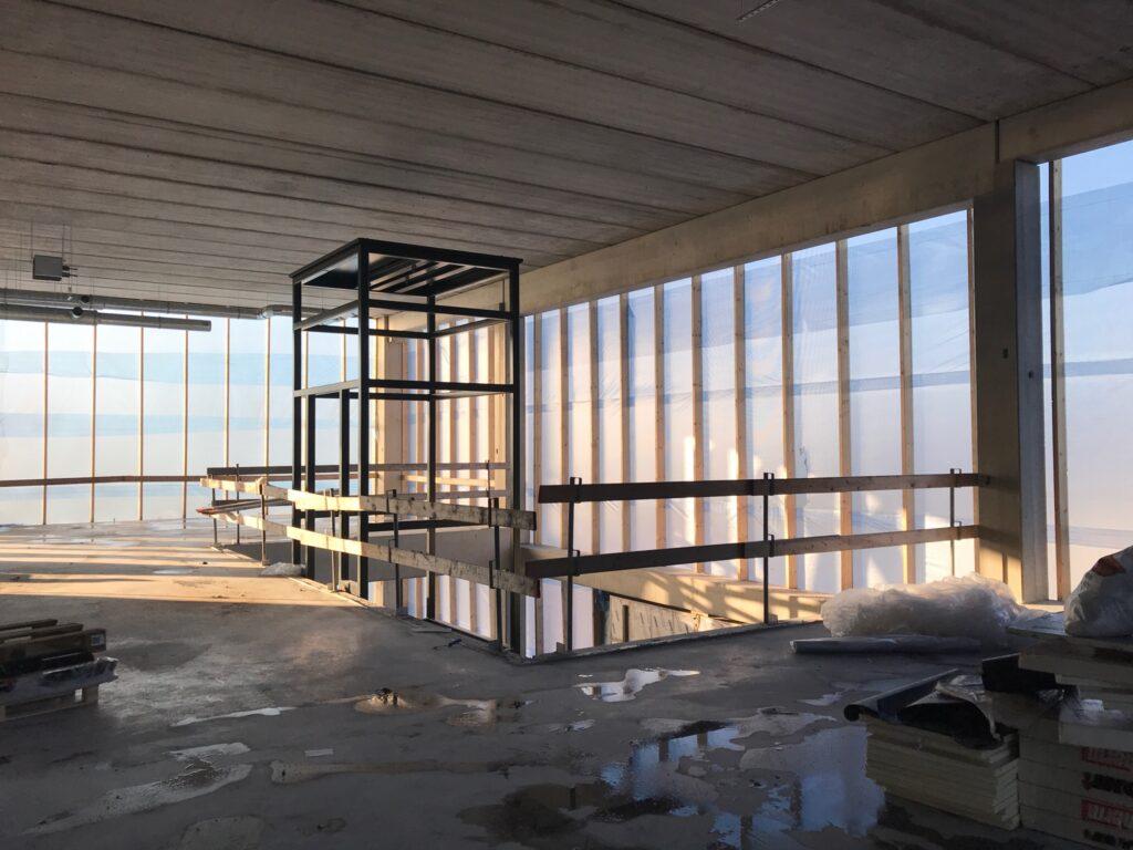 Nieuwbouw bedrijfsruimte met kantoor VDH Solar Hazerswoude-Dorp
