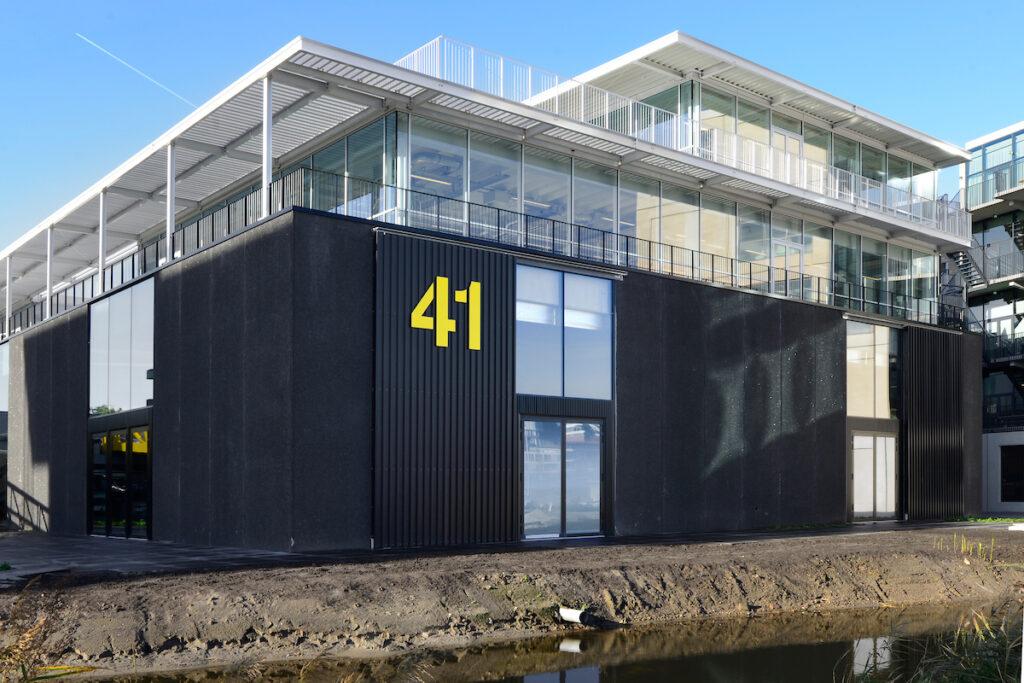 Imagewharf is een initiatief van een aantal creatieve bedrijven en Steengoed en omvat 17.500 m2 bouwvolume op bijna 1,5 hectare grond.
