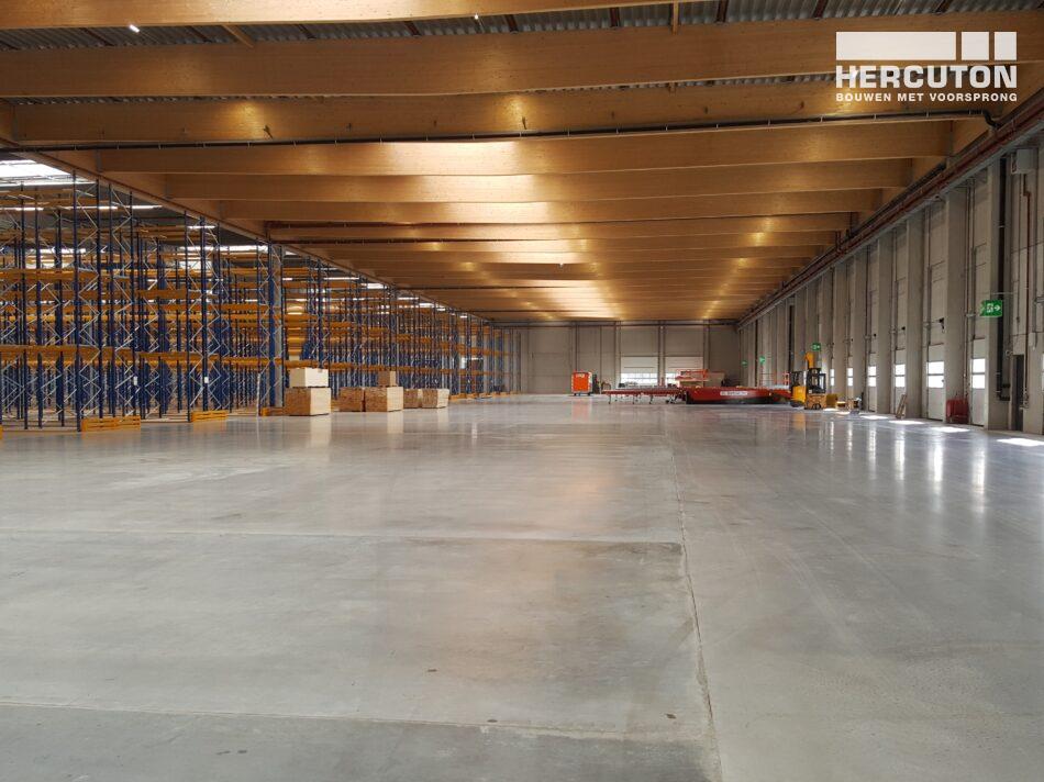 Nieuwbouw distributiecentrum Inter-Sprint