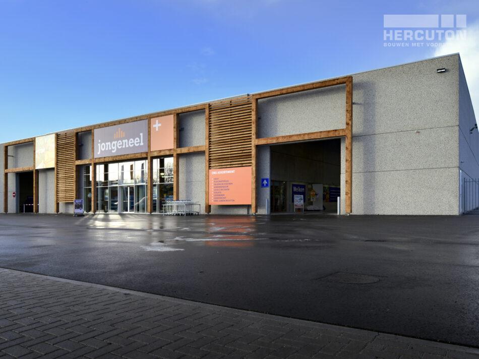 Winkelruimte Houthandel Jongeneel Hercuton b.v. uit Nieuwkuijk