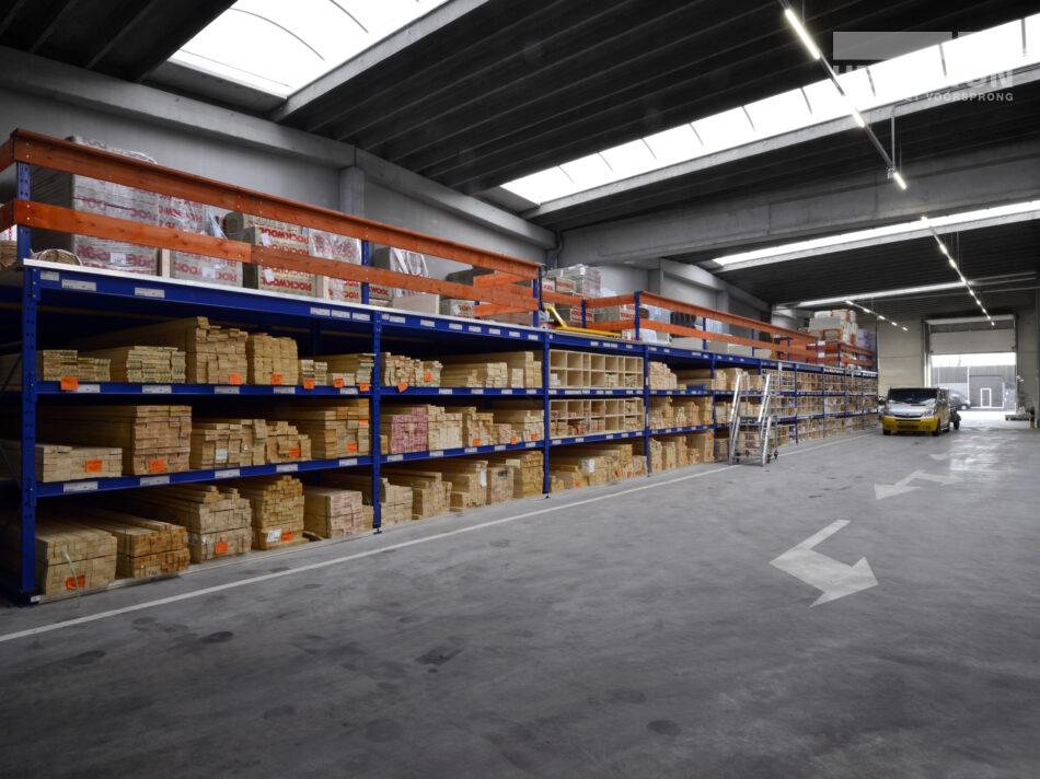 Winkelruimte Houthandel Jongeneel