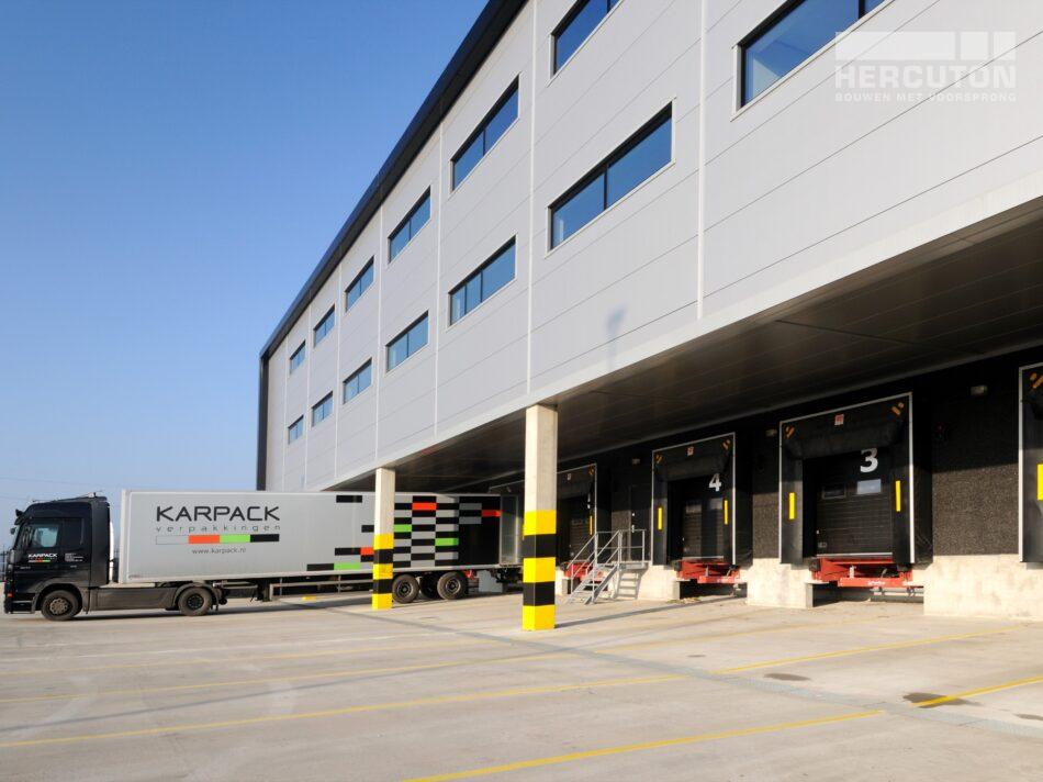 Productieruimte met kantoor Karpack, Roosendaal