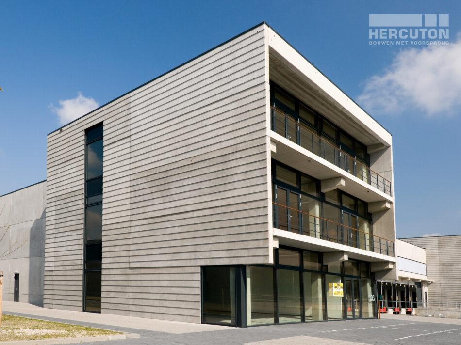 Bedrijfsruimtes gebouwd door Hercuton in Lutkemeer