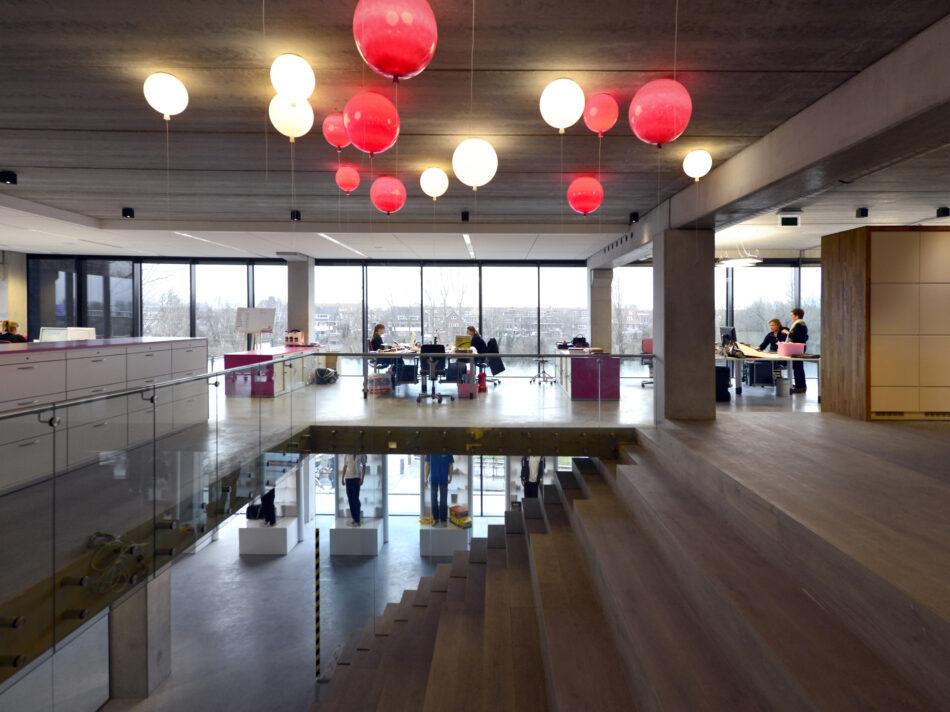Loft kantoor Keiretsu Europe in Rotterdam