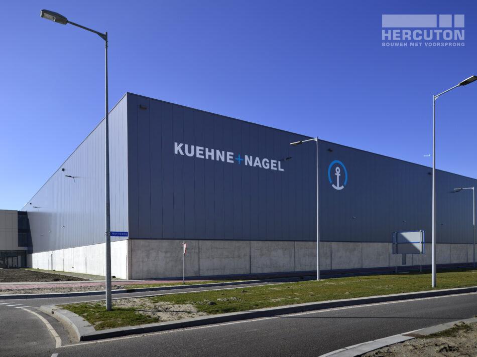 Kuehne en Nagel nieuwbouw logisitiek centrum