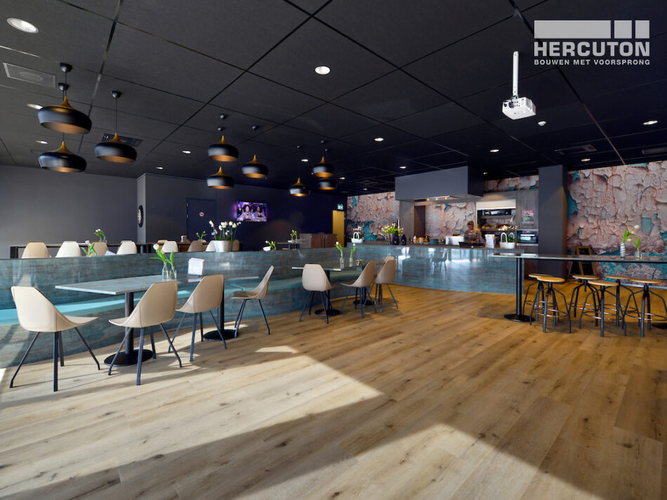 Hercuton heeft voor L&M Rijnsburg een tweelaags distributiecentrum met kantoor turn-key gerealiseerd in Rijnsburg.