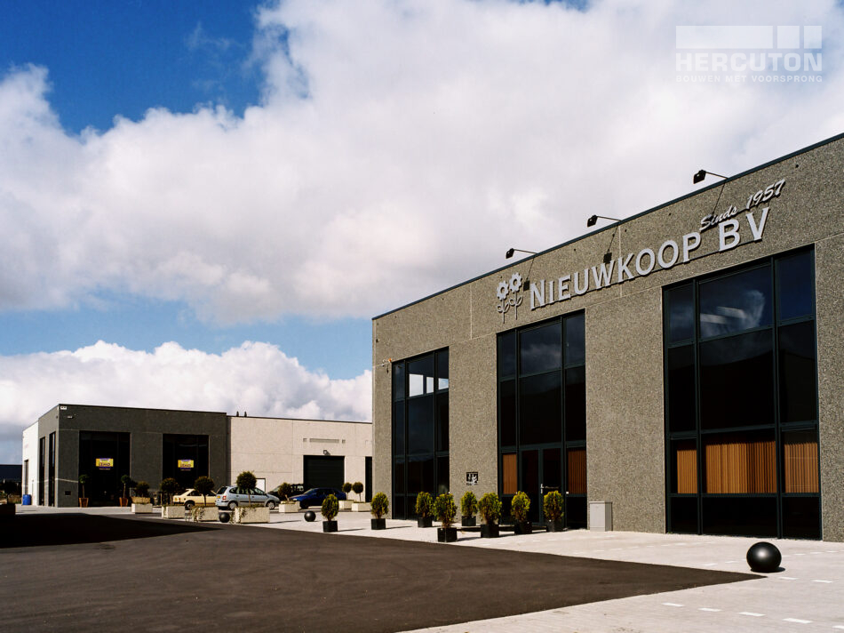 In Noord-Holland heeft Hercuton voor Lemo een bedrijfsverzamelpand neer mogen zetten.