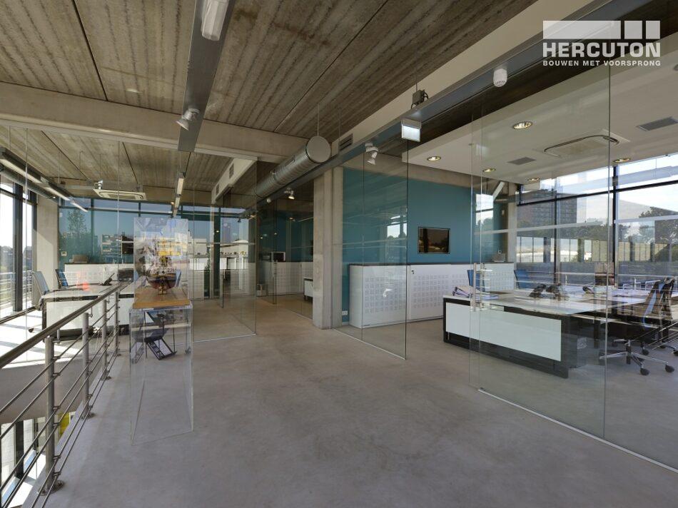 Nieuwbouw kantoor met bedrijfshal MTS Euro Products