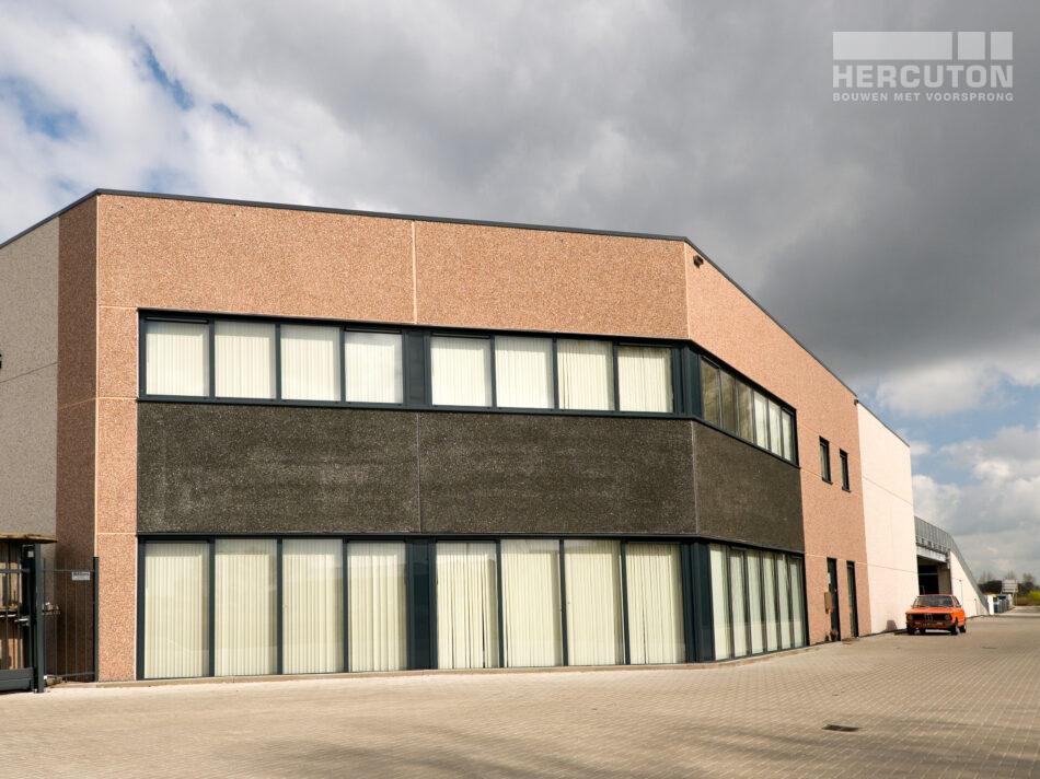 Hercuton heeft in Zuid-Holland een bedrijfsverzamelgebouw mogen realiseren.