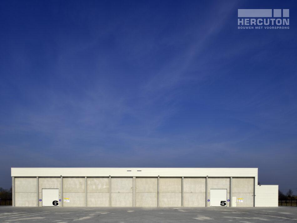 Buitenaanzicht pand gerealiseerd door Heructon b.v. uit Nieuwkuijk