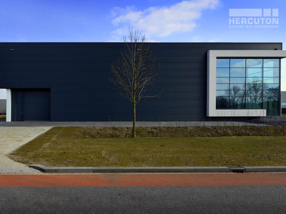 Het was het achtste gebouw dat wij realiseerden op het bedrijvenpark waar ook ons eigen kantoorpand gevestigd is.