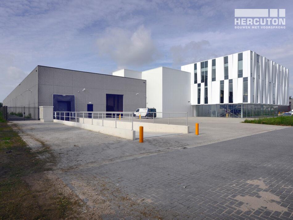 Turn-key nieuwbouw R&D Center Berco Schijndel door Hercuton