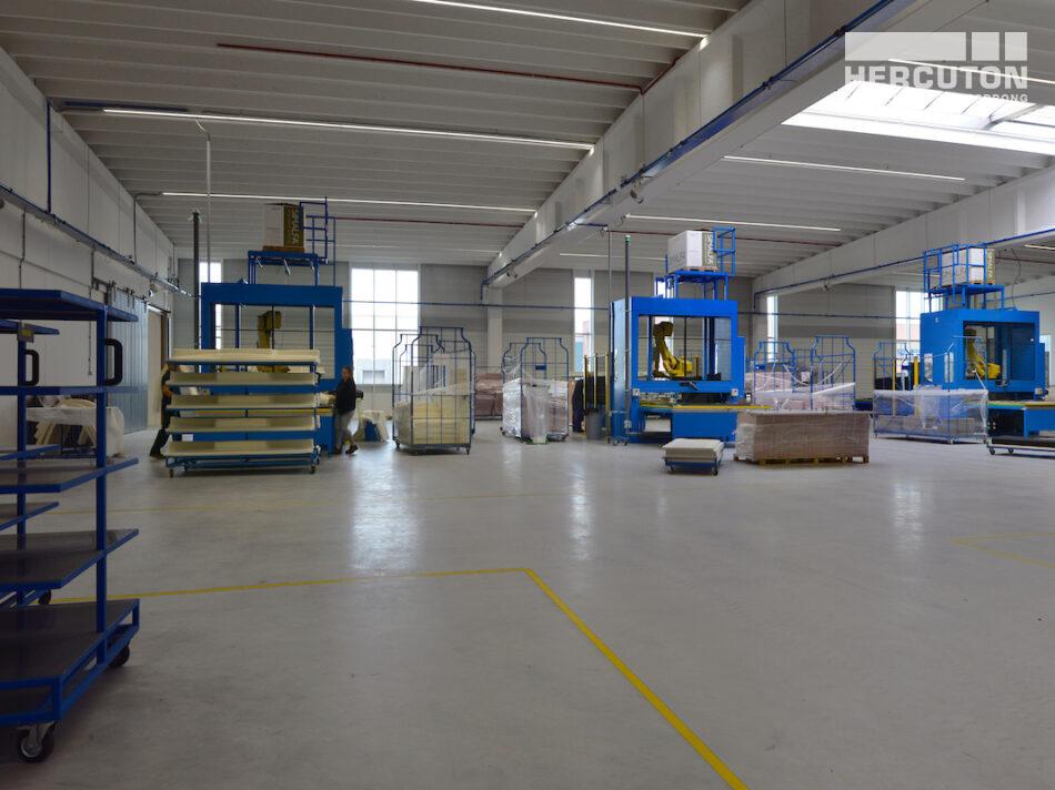 Turn-key nieuwbouw bedrijfsruimte met kantoor Berco Schijndel door Hercuton