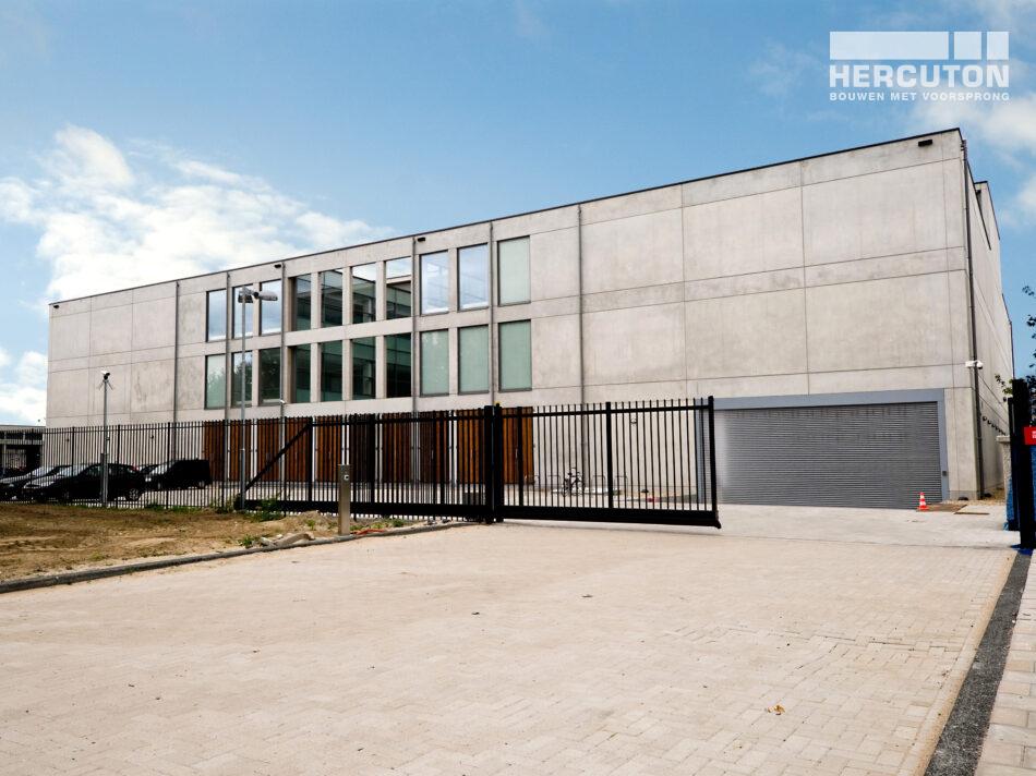 Opslagruimte Stedelijk Museum Amsterdam nieuwbouw gerealiseerd door hercuton b.v.