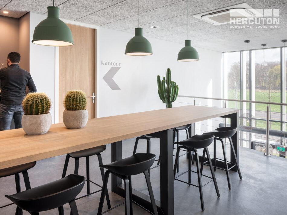 Nieuwbouw productie- en opslagruimte met kantoor Elvedes Cable Systems, Nieuwkuijk