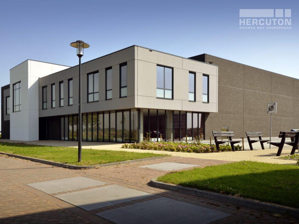Nieuwbouw bedrijfsverzamelgebouw Kavel 41 Waalwijk - zijaanzicht