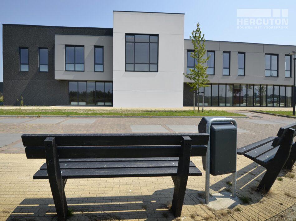 Nieuwbouw bedrijfsverzamelgebouw Kavel 41 Waalwijk - vooraanzicht