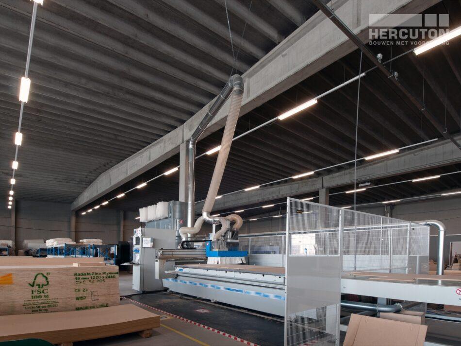 Nieuwbouw loft kantoor met bedrijfsruimte Swalu Vastgoed. - magazijn