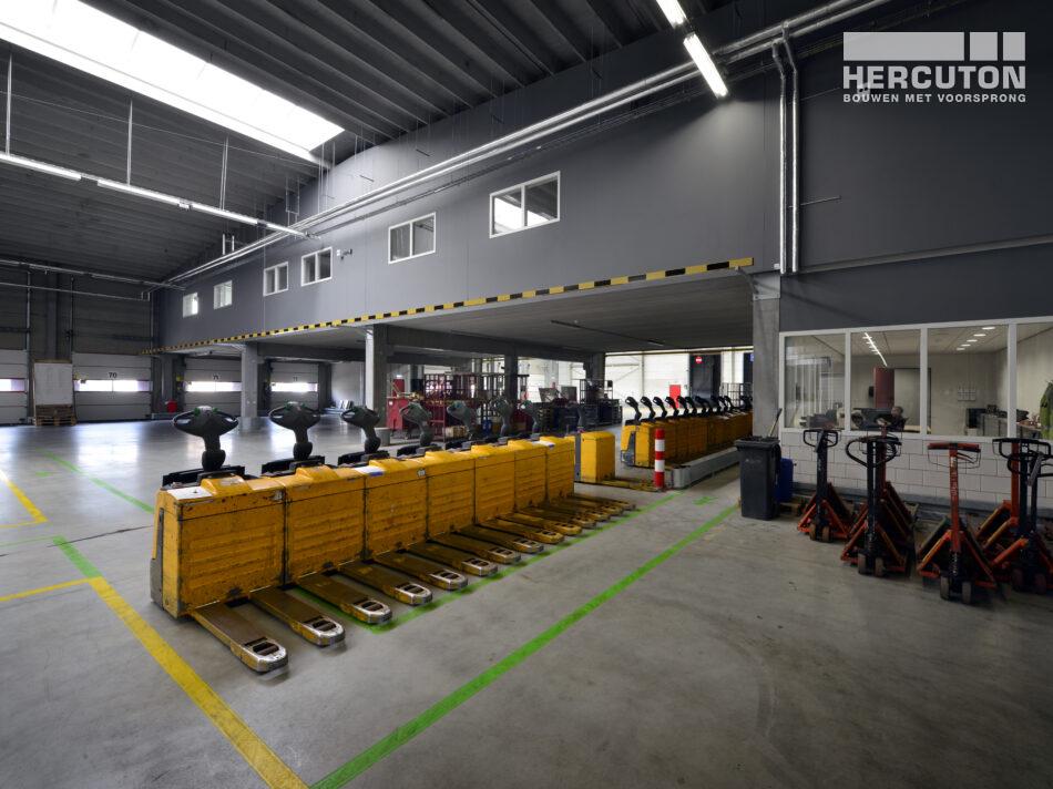 Nieuw logistiek centrum voor Tielbeke Logistiek in Lemelerveld.