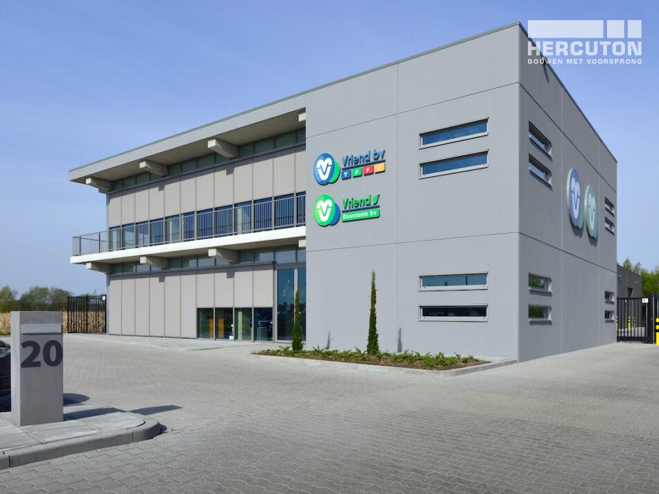 Loftbouw Vriend Coevorden met kantoorfuncties, werkplaats en magazijn