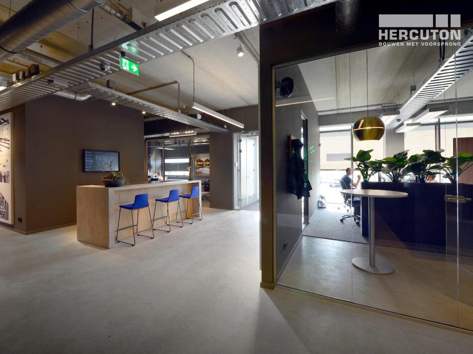 Nieuwbouw bedrijfspand Vriend Coevorden met kantoorfuncties, werkplaats en magazijn