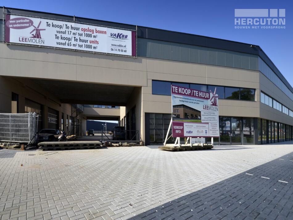 Bedrijfsverzamelgebouw van. 4.308 m2 wordt gebouwd door bouwbedrijf Hercuton in Zuid-Holland.
