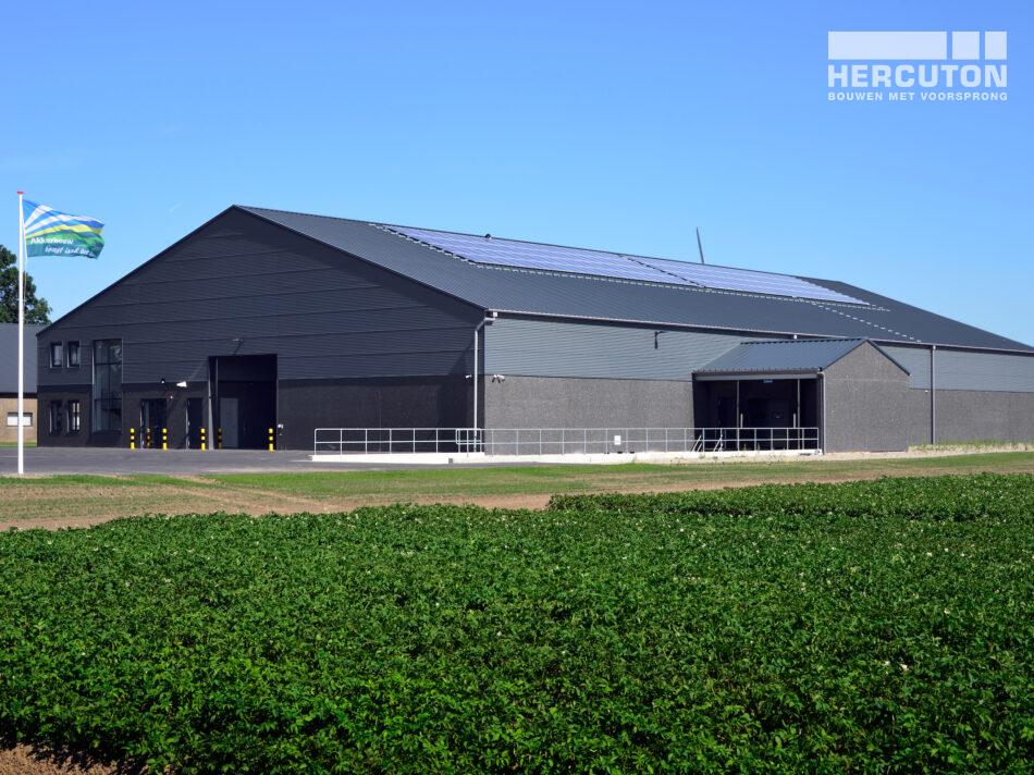 Hercuton heeft voor Wesemael een PGS15 ruimte inclusief kantoor in Biddinghuizen gerealiseerd.
