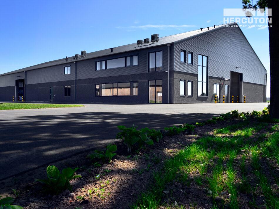 Hercuton heeft voor Wesemael een PGS15 ruimte inclusief kantoor in Biddinghuizen gebouwd.