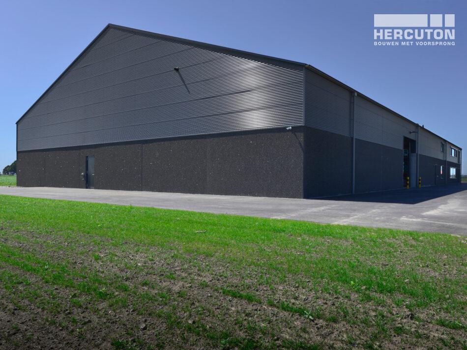 Hercuton heeft voor Wesemael een PGS15 ruimte met kantoor in Biddinghuizen gebouwd.