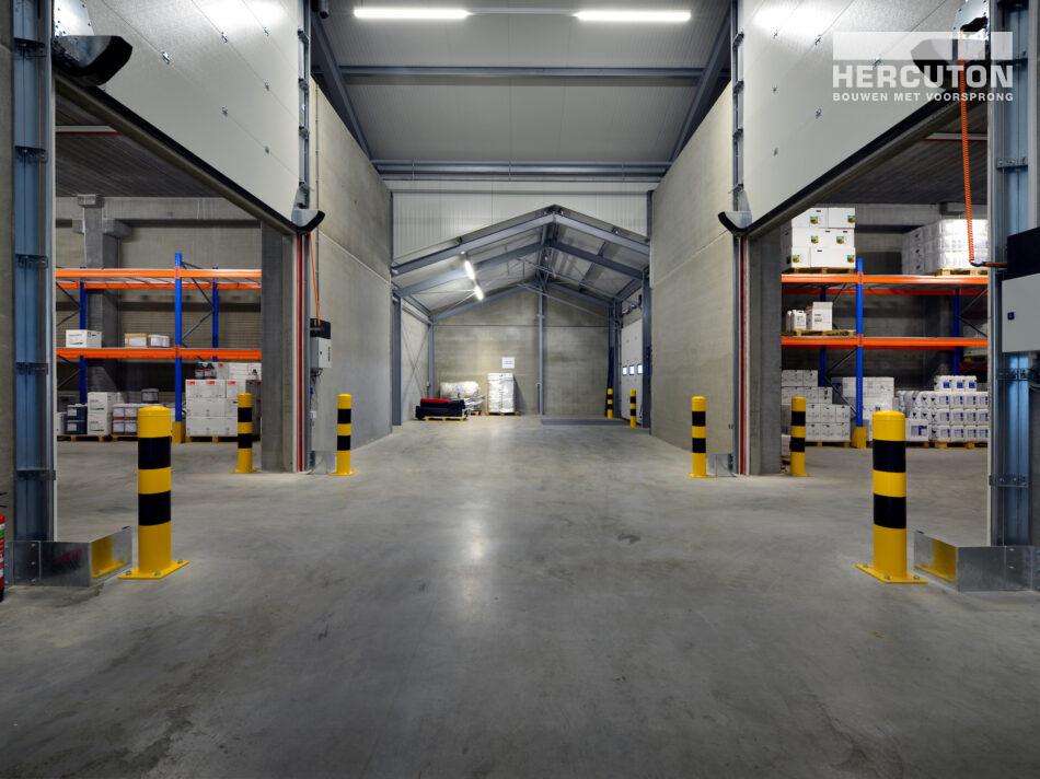 Het gebouw van Wesemael voldoet aan de Publicatiereeks Gevaarlijke Stoffen (PGS) 15.
