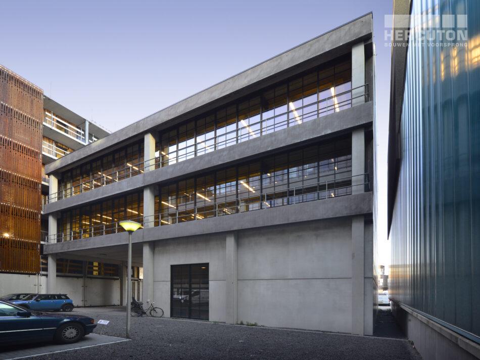 Nieuwbouw loftkantoor X2, Amsterdam
