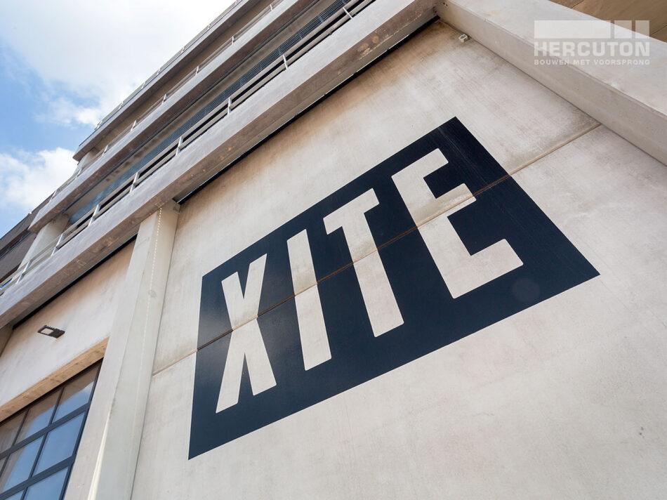 Nieuwbouw hoofdkantoor Xite Amsterdam in prefab beton