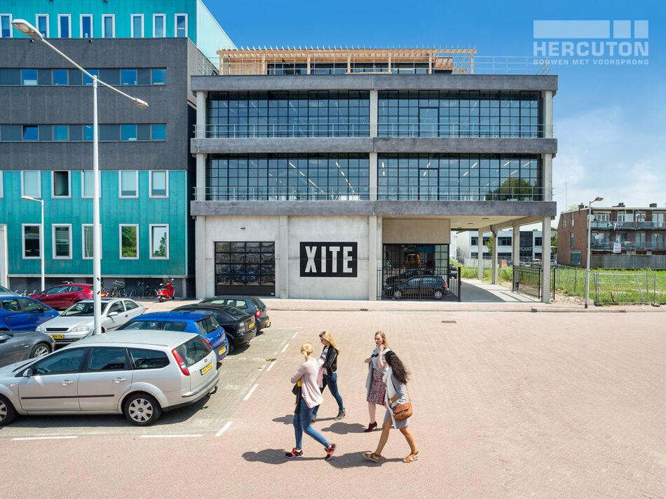 Nieuwbouw hoofdkantoor Xite Amsterdam door Hercuton